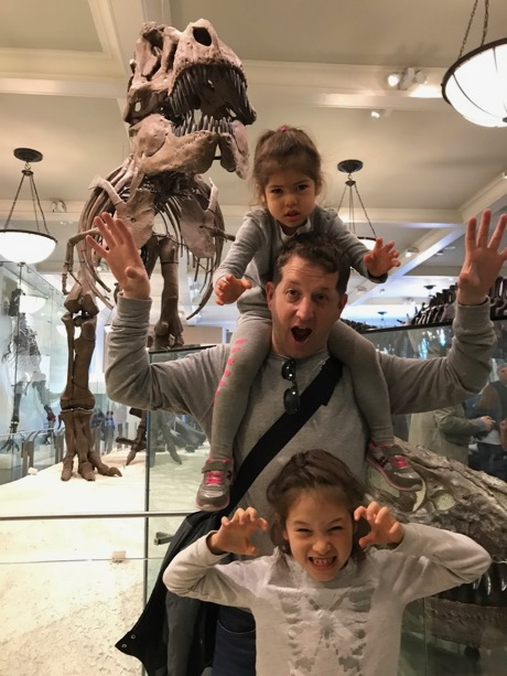 Watch out - 4 tyranosaurs!