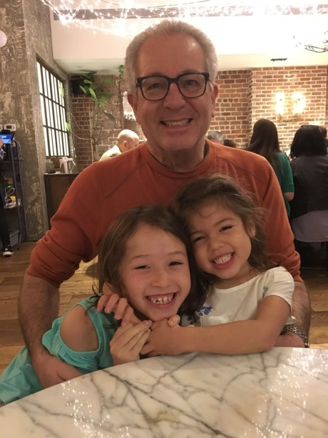 Papa and his girls