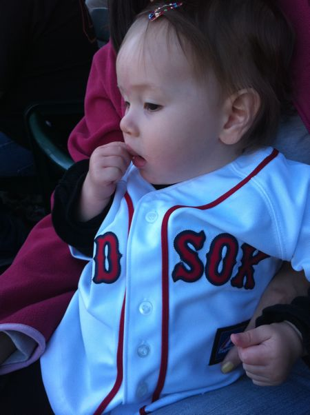 Maile was very concerned by Clay Buchholz's injury - it didn't look good :(