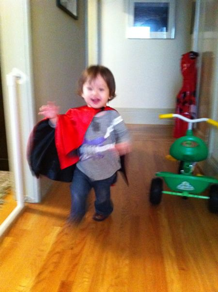 Sorry so blurry, Maile is just too fast when she is in her super gear...