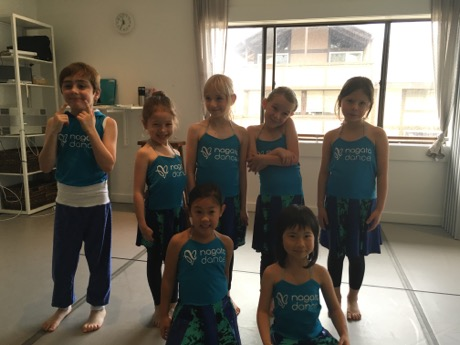 The Hip Hop Jazz dance crew at Nagata dance...
